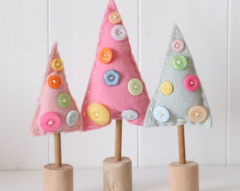 Felt Christmas Tree Kit Etsy