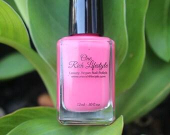 Pregnancy Safe Nail Polish, Natural Nail Polish, Vegan Nail Polish, Vegan Beauty, Pink nail polish, baby shower favor, wedding favor, nail p
