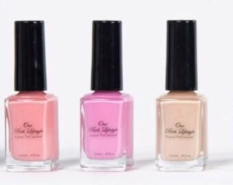 Natural Nail Polish, Vegan Nail Polish,vegan beauty gift, toxin free nail polish, 7-free nail polish, vegan gift, healthy nail polish,