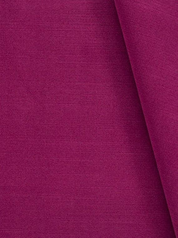 Raspberry Velvet Upholstery Fabric For Furniture Custom Dark Etsy