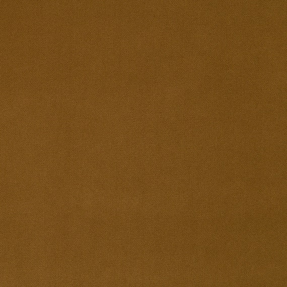 Caramel Brown Velvet Upholstery Fabric For Furniture Brown Etsy