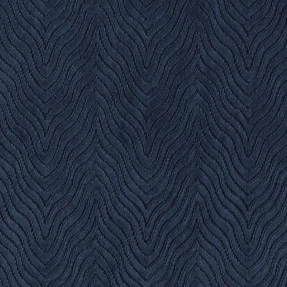 Modern Navy Blue Velvet Upholstery Fabric Textured Blue Etsy