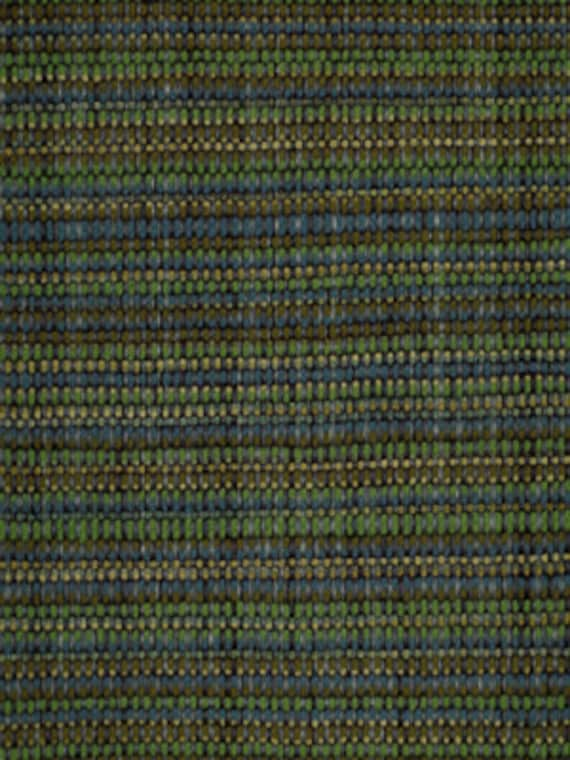 Navy Blue And Green Tweed Upholstery Fabric Modern Indigo Etsy