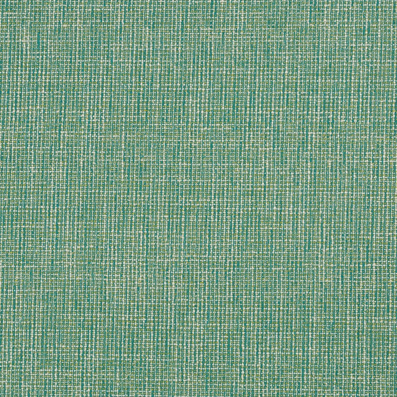 Emerald Green Upholstery Fabric Teal Tweed Textured Fabric Etsy