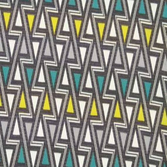 Teal Grey Upholstery Fabric ON SALE