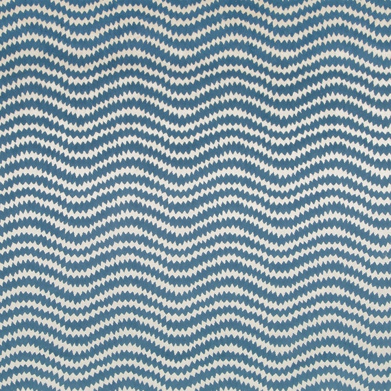 Light Blue Velvet Upholstery Fabric By The Yard Modern Blue Etsy