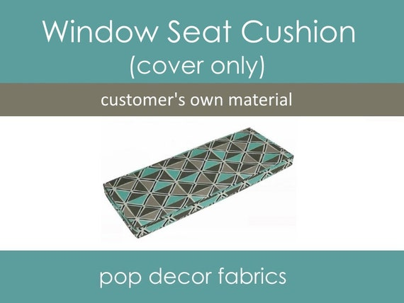 Excellent Window Seat Cushion Covers Customers Own Material Com Design Your Own Bench Window Seat Cushion Covers Cushion Covers With Cording Creativecarmelina Interior Chair Design Creativecarmelinacom