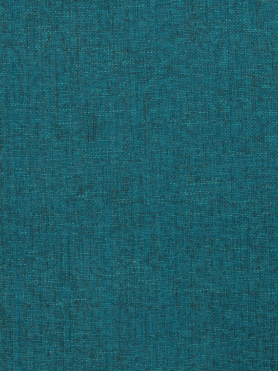 Dark Teal Textured Upholstery Fabric Heavy Upholstery