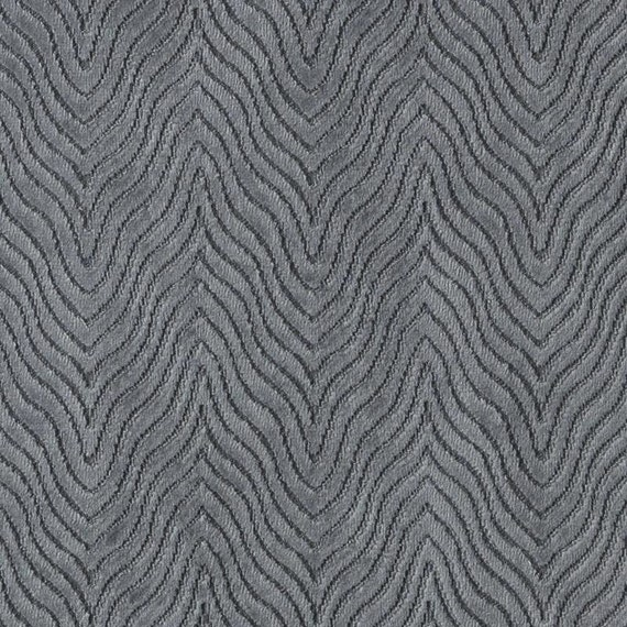 Contemporary Charcoal Grey Velvet Upholstery Fabric Grey Etsy