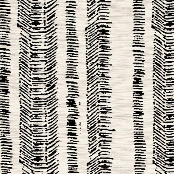 Modern Black White Upholstery Fabric Woven Animal Pillow Etsy