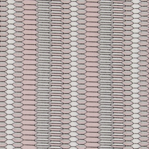 Grey Pink Upholstery Fabric Modern Blush Pink Furniture Etsy