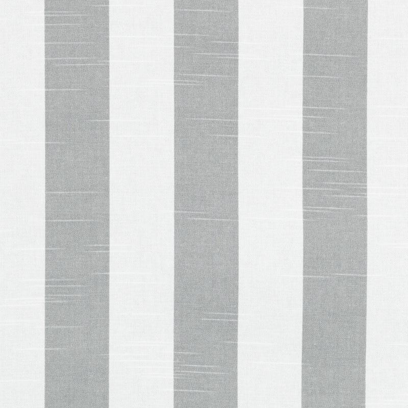 Grey Cotton Stripe Fabric Grey Stripe Upholstery Fabric Etsy