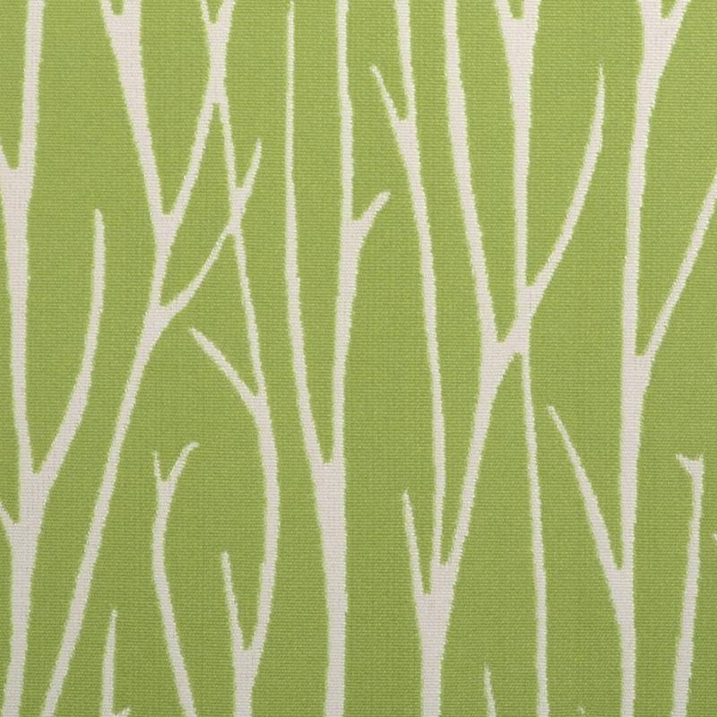 Lime Green Abstract Upholstery Fabric With Grass Scenic Etsy