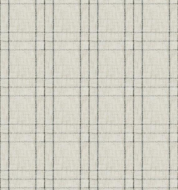 Modern Black White Plaid Upholstery Fabric For Furniture Etsy