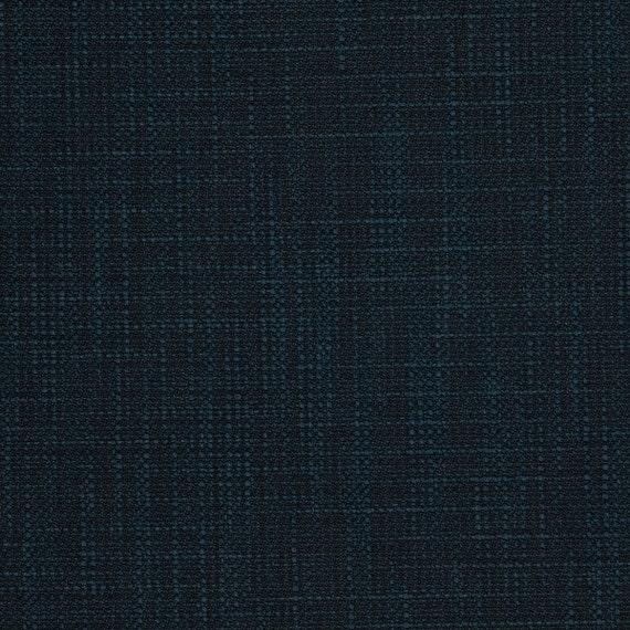 Navy Dark Blue Wandfarbe: Dark Navy Blue Textured Upholstery Fabric Woven Blue Slub
