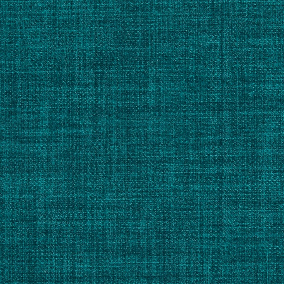 Peacock Blue Upholstery Fabric By The Yard Textured Woven   Etsy