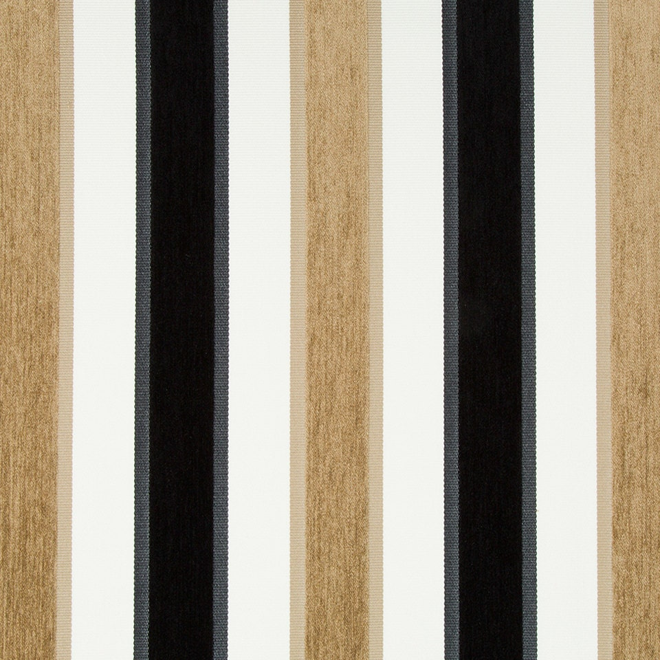 Black White Velvet Stripe Upholstery Fabric For Furniture Etsy