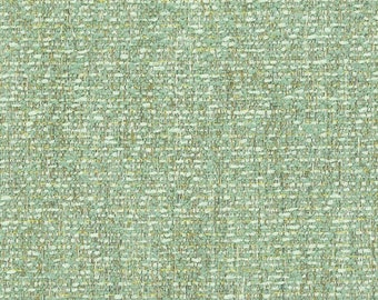 Light Green Tweed Upholstery Fabric - Durable Woven Small Scale Green Fabric for Furniture - Modern Light Green Fabric for Chairs and Sofas