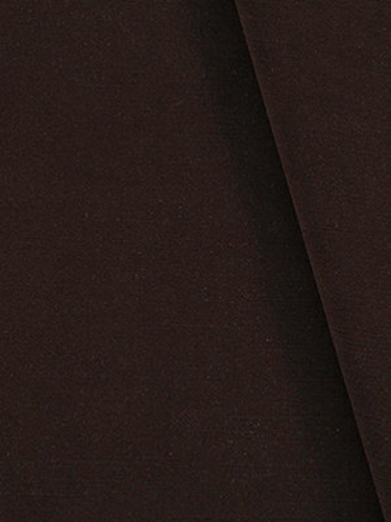 Dark Brown Velvet Upholstery Fabric Solid Color Velvet By Etsy