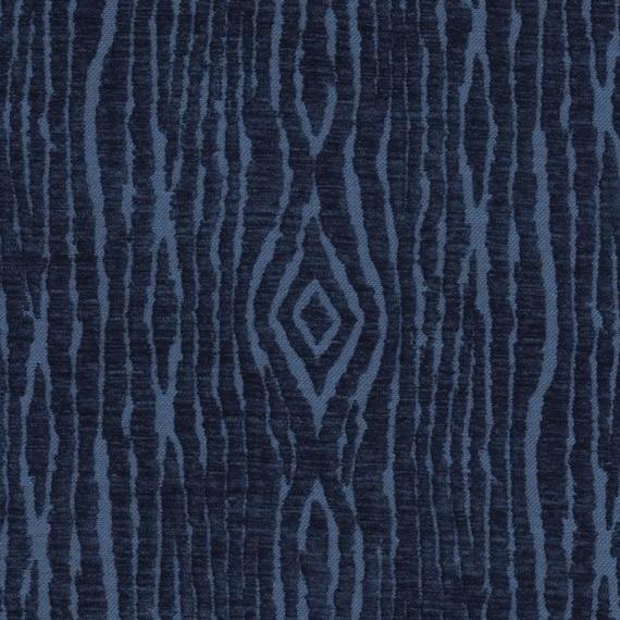 Abstract Navy Blue Velvet Upholstery Fabric For Furniture Etsy