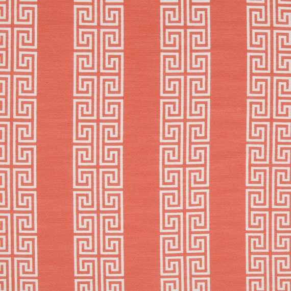 Coral Upholstery Fabric Geometric Dining Room Chair Fabric