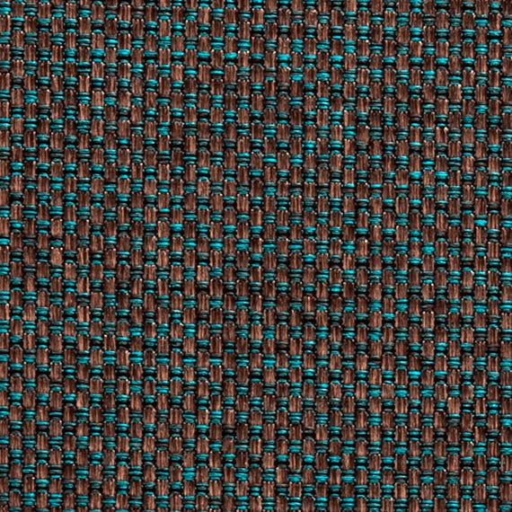 Peacock Blue Upholstery Fabric By The Yard Blue Brown Modern Etsy