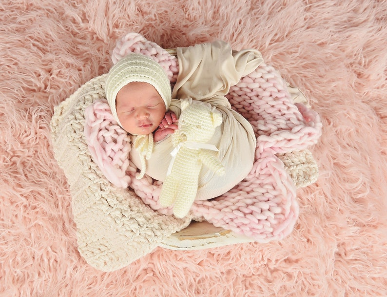 39 colors newborn bump blanket baby girl photo props for photography carseat layer crib bedding lovey security lovie ivory cream sparkle