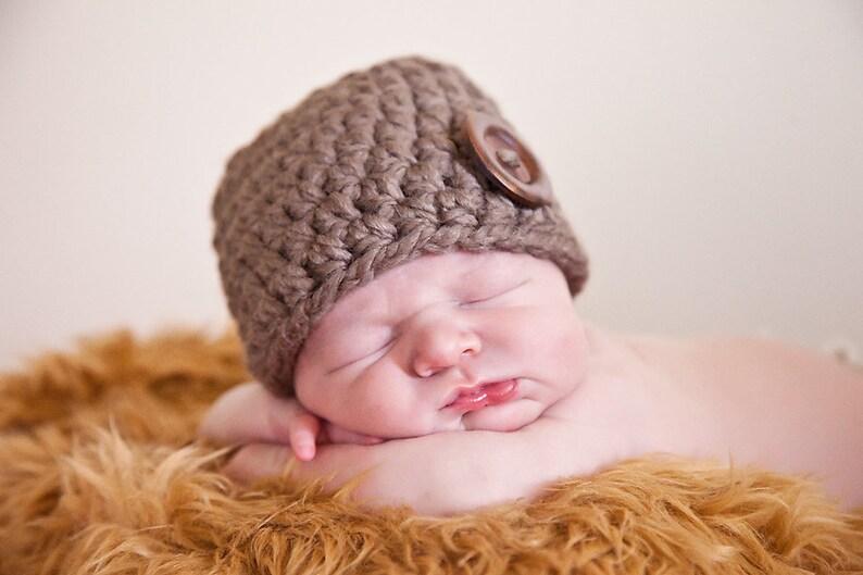 01b85763191 32 Colors Baby Boy or Girl Hat Newborn Beanie Baby Shower Gift