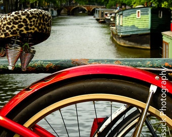Amsterdam Bike Fine Art Print  8x10