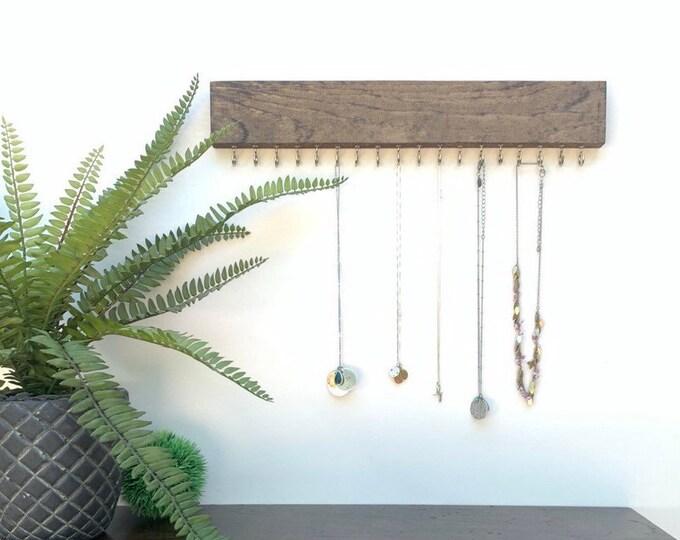 Necklace Organizer | Necklace Hanger | Necklace Rack | Necklace Holder | Display