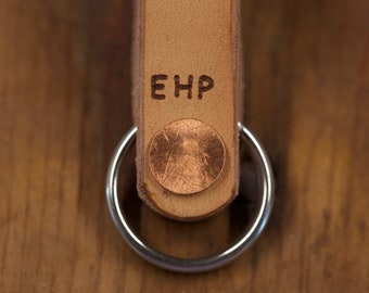 Monogrammed Key Fob Set for Groomsmen & Bridesmaids | Gift Boxes Included