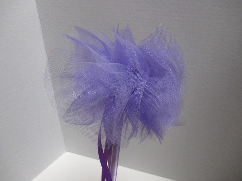 purple princess wand party favor fairy wand
