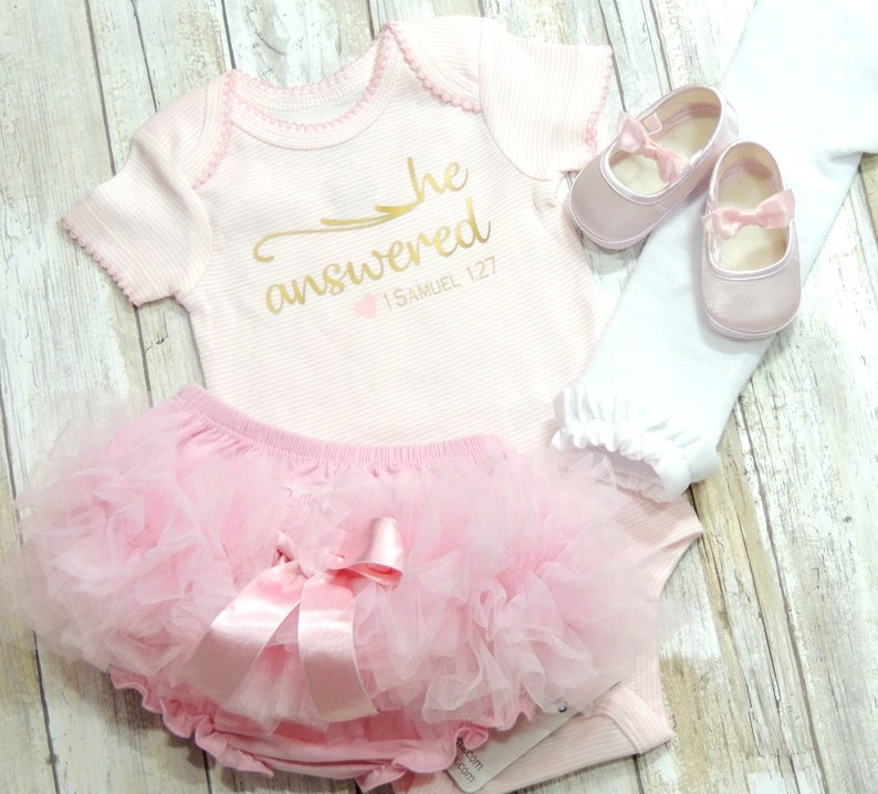 a34ca0d60 Baby Girl Coming Home Outfit First Valentines Day He   Etsy