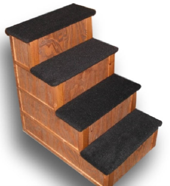 28 Inch 4 Step Pet Stairs Bed Step | Etsy