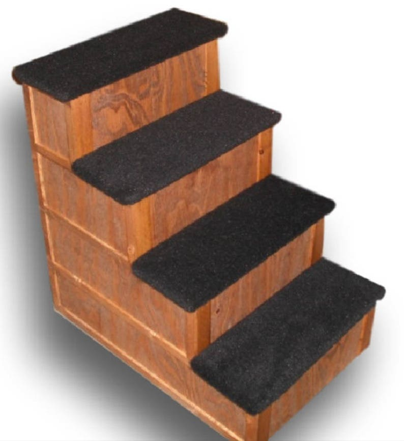 Beau Pet Step 28 Inch Tall 4 Step Pet Stairs Bed Step