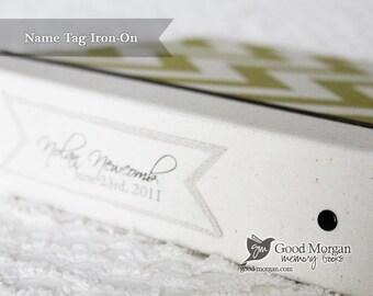 Fabric Name Tag