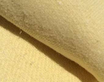 The Collection Pastels - Hemp Organic Cotton Terry 340 gsm - Wax Yellow (6005.21.00.00)