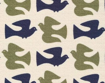 On the Fly Olive - Holding Pattern by Jessica Jones for Cloud9 Fabrics BARKCLOTH (5208.52.00.90)