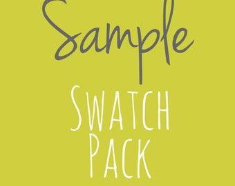 """Sample Swatches - 1 to 5 fabrics - 4"""" x 4"""" List your sample selections (6005.21.00.00)"""