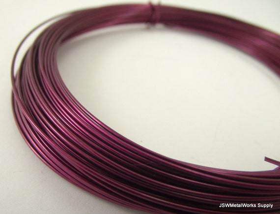 45 Feet Anodized Aluminum 20 Gauge 0.8mm Round Wrapping Wire