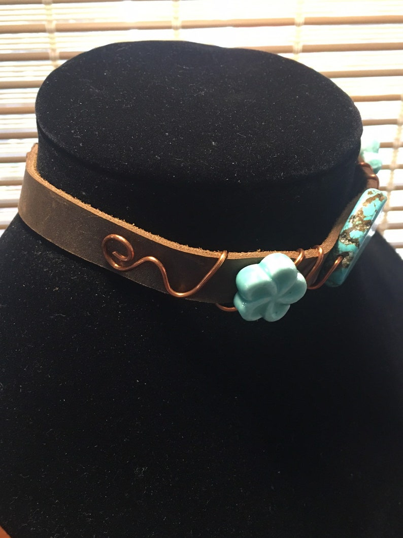 Awesome Turquoise Choker