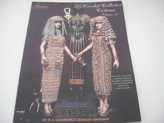 1899 Jeweled Theatrical Crochet Collector Costume Vol 69 Paradise Publications