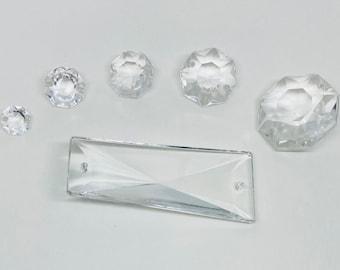 Glass Chandelier Prisms