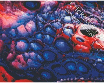 Surreal #8 - Cross-Stitch Pattern - INSTANT DOWNLOAD