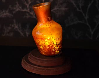 Estus Flask Dark Souls inspired glass table lamp by Mortiis.M