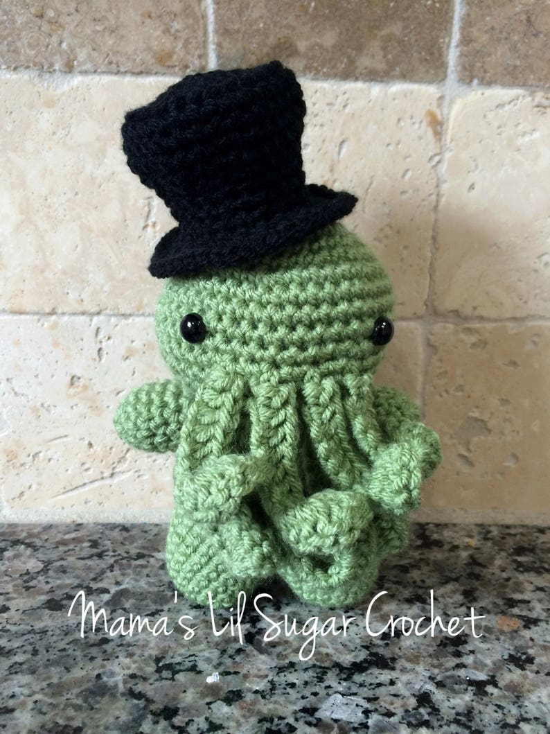 5893a47a81c1 Cthulhu Top hat Cthulhu HP Lovecraft Toy Cthulhu toy Gift | Etsy