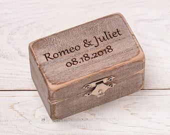 Wedding Ring Box, Personalized Ring Bearer, Rustic Ring Box, Wedding Ring Holder, Ring Bearer Pillows, Wood Box, Ring Bearer Box,