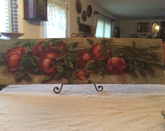 Gorgeous Roses Painting*  Sunday Morning painting * Pink Roses