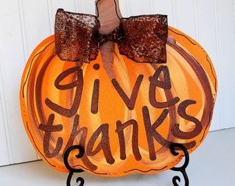 Pumpkin Decor, Pumpkin Door Decoration, Fall Home Decor, Halloween Pumpkin, Thanksgiving Pumpkin
