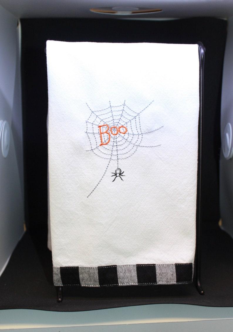 Halloween Spider Web Kitchen Towels image 0